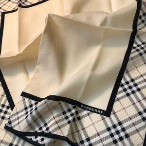 Vintage Burberry handkerchief, scarf